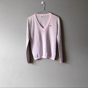 Lacoste V Neck Sweater | Size 36